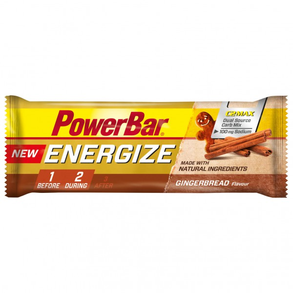 PowerBar - Energize Gingerbread - Energy bars