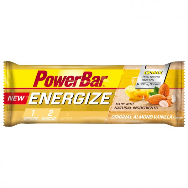 PowerBar - Energize Original Vanilla Almond - Energiapatukat