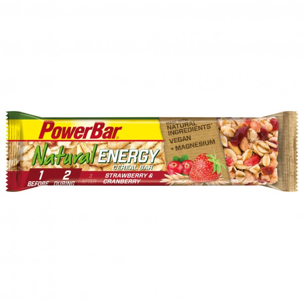 PowerBar - Natural Energy Cereal Strawberry-Cranberry