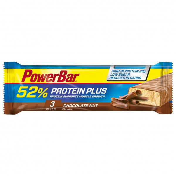 PowerBar - ProteinPlus Chocolate Nuts - Energy bars