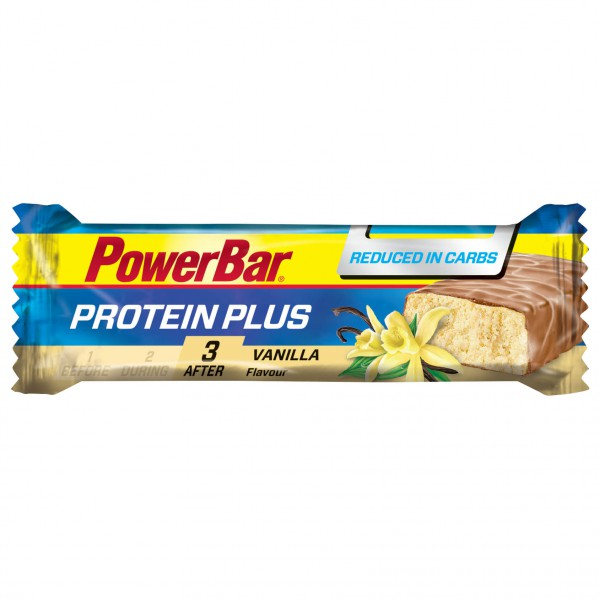 PowerBar - ProteinPlus Low Carb Vanilla - Energy bars