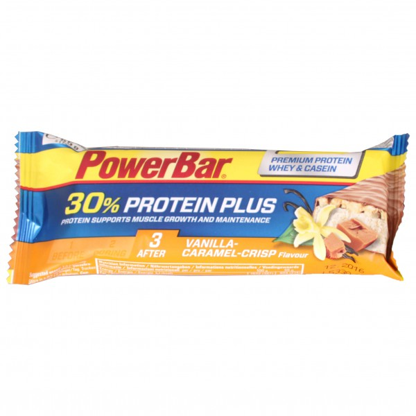 PowerBar - ProteinPlus Caramel-Vanilla-Crisp - Energy bars