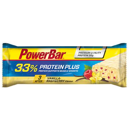 PowerBar - ProteinPlus Vanilla-Raspberry - Energy bars