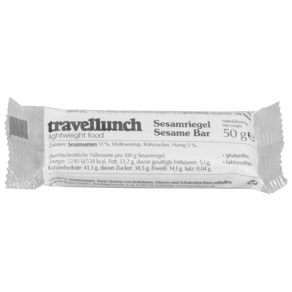 Travellunch - K4 Sesamriegel - Energy bar