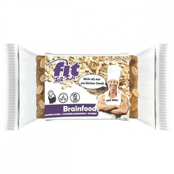Oat King - Fit for Fun Riegel Brainfood - Energy bar