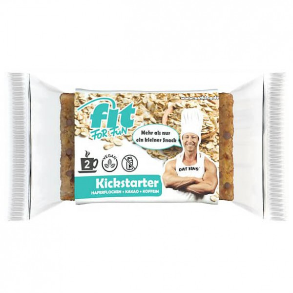 Oat King - Fit for Fun Riegel Kickstarter - Energierepen