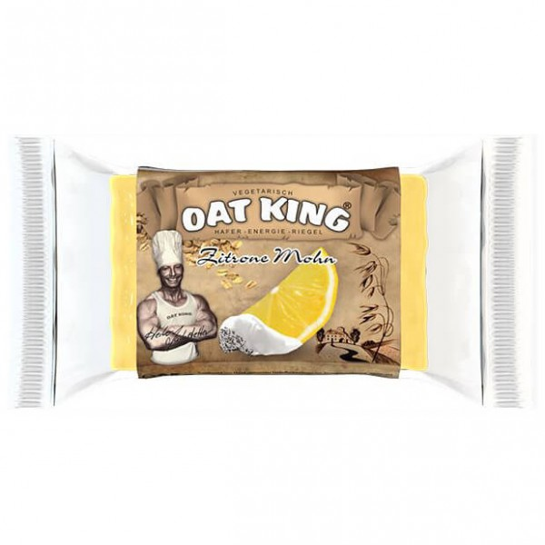 Oat King - Zitrone Mohn - Energiapatukat