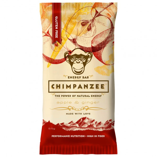 Chimpanzee - Energy Riegel Apple/Ginger - Energieriegel
