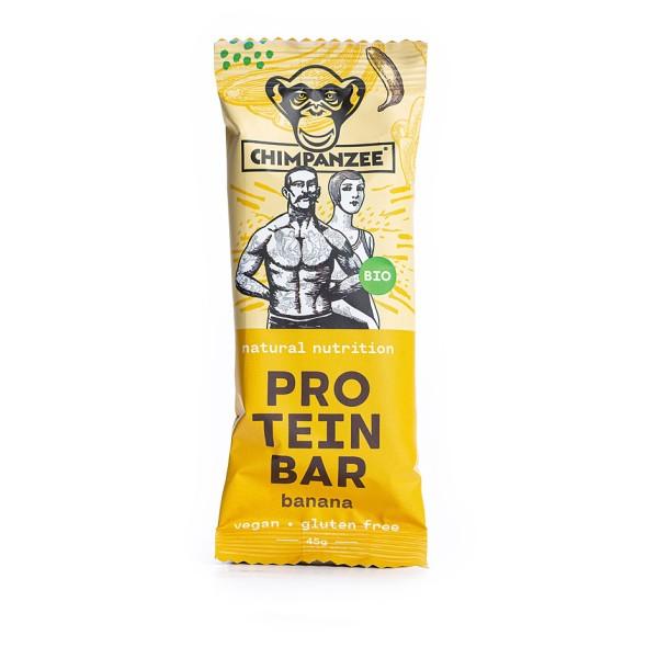 Chimpanzee - Organic Protein Bar Banane - Barre énergétique