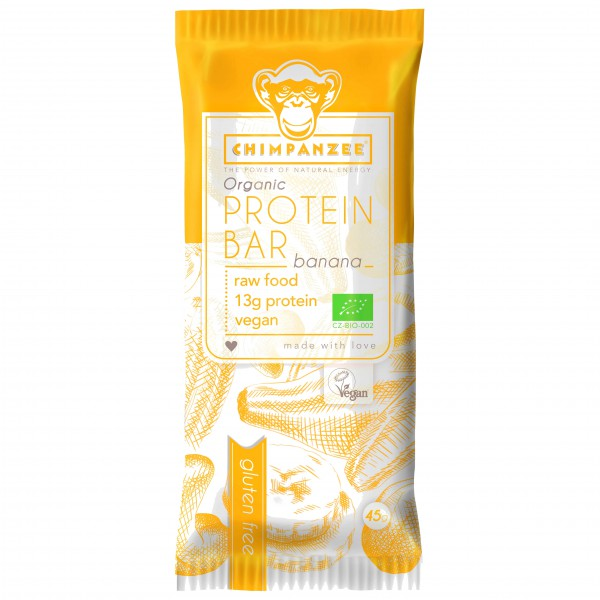 Chimpanzee - Organic Protein Bar Banane
