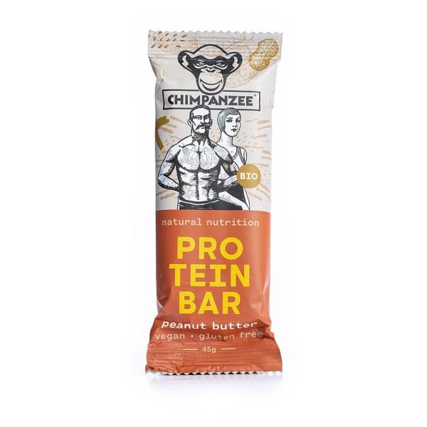 Chimpanzee - Organic Protein Bar Peanut Butter - Recoveryriegel