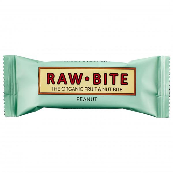 Raw Bite - Peanut - Barres énergétiques