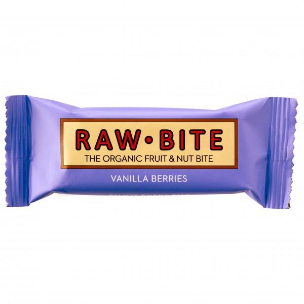 Raw Bite - Vanilla Berries - Barre énergétique