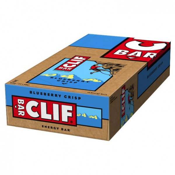 Clif Bar - Blueberry Crisp 12er Promo MHD 16.08.2016