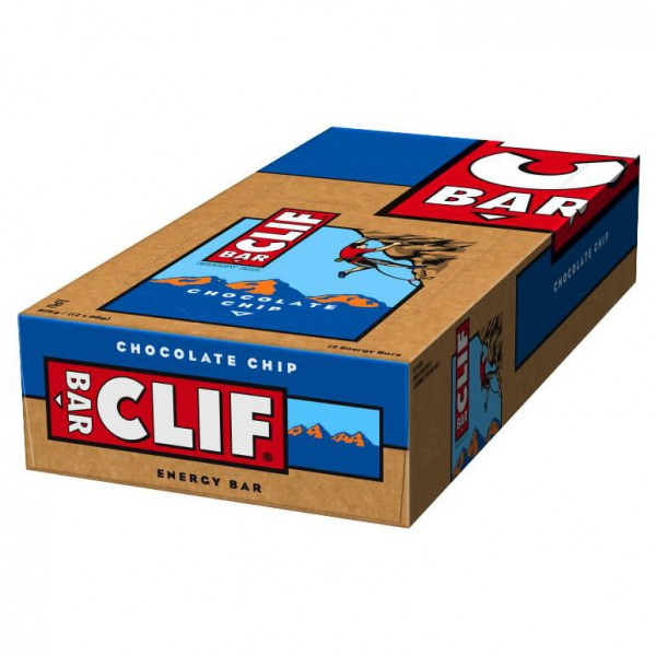 Clif Bar - Chocolate Chip 12er