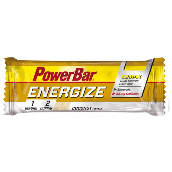 PowerBar - Energize Coconut (mit Koffein) - Energy bars