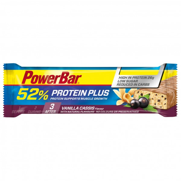 PowerBar - Proteinplus 52% Vanilla Cassis - Energieriegel