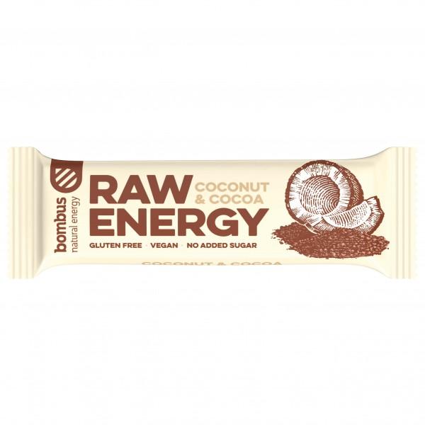 Bombus - Raw Energy Coconut & Cocoa - Energibarer