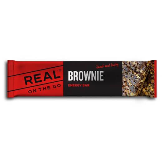Real Turmat - Energy Bar Brownie - Energieriegel