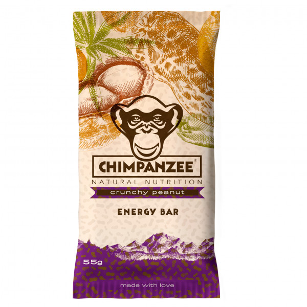 Chimpanzee - Energy Bar Vegan Crunchy Erdnuss