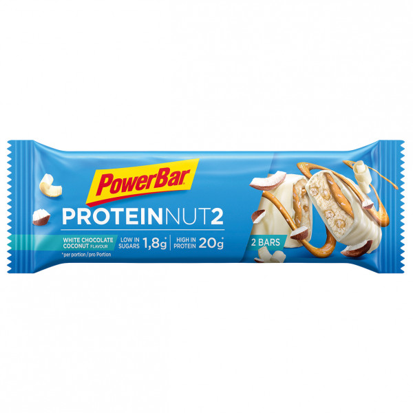 PowerBar - Protein Nut2 White Chocolate Coconut - Recoveryriegel
