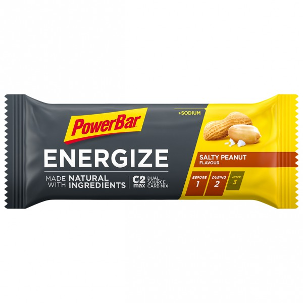 PowerBar - Energize w Natural Ingredients Salty Peanut - Energieriegel