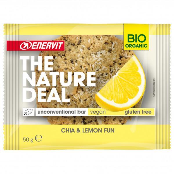 Enervit - Nature Deal Unconventional Bar Chia + Lemon Fun - Energieriegel