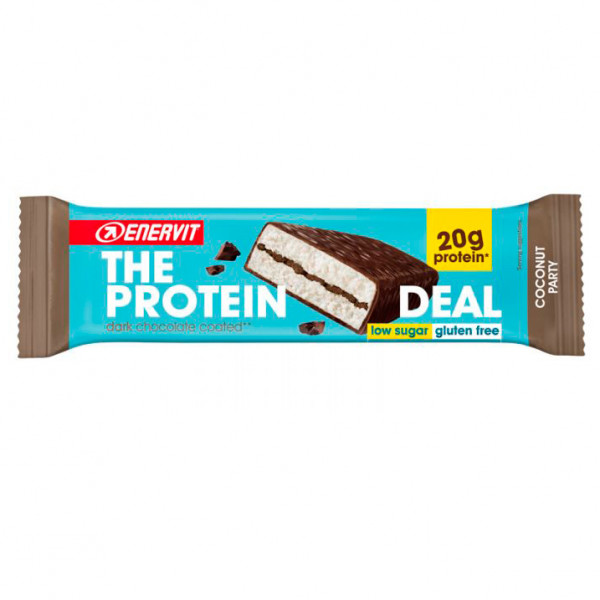 Enervit - Protein Deal Bar Coconut - Recoveryriegel