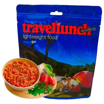 Travellunch - Pasta bolognese naudanlihalla