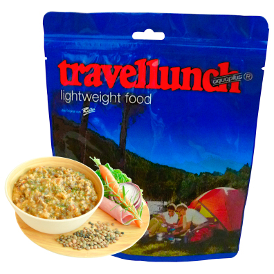 Travellunch - Linssikeitto pekonilla