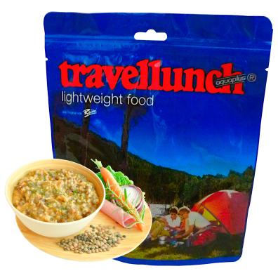 Travellunch - Linseneintopf mit Speck