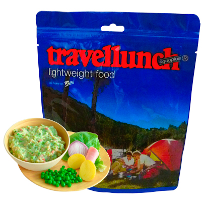 Travellunch - Erwtenschotel met spek