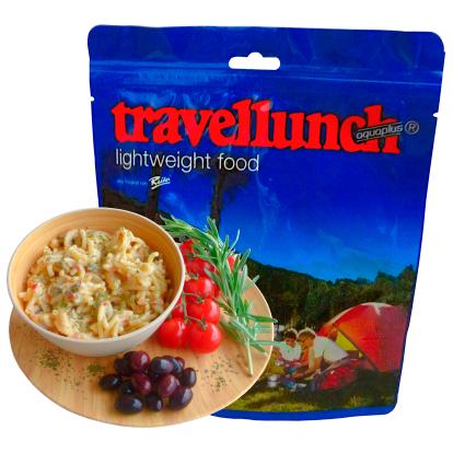 Travellunch - Pasta Siciliana oliiveilla - kasvissyöjälle