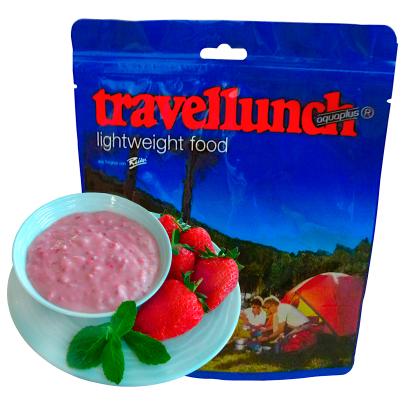 Travellunch - Aardbeiencrème