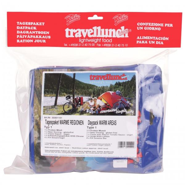 Travellunch - Dagpakket Warme regio's