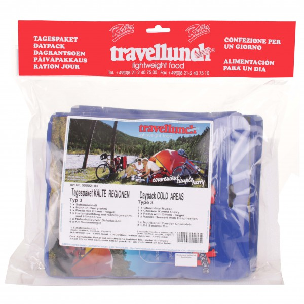 Travellunch - Päiväpakkaus, kylmät alueet