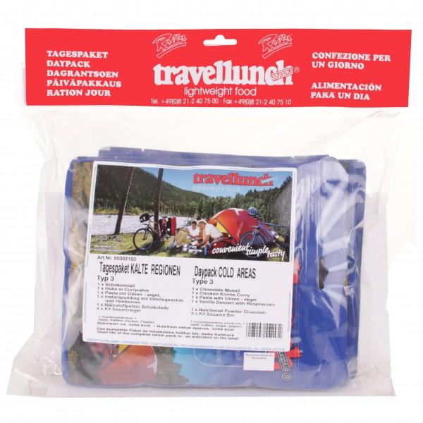 Travellunch - Provisions 1journée 'régions froides'