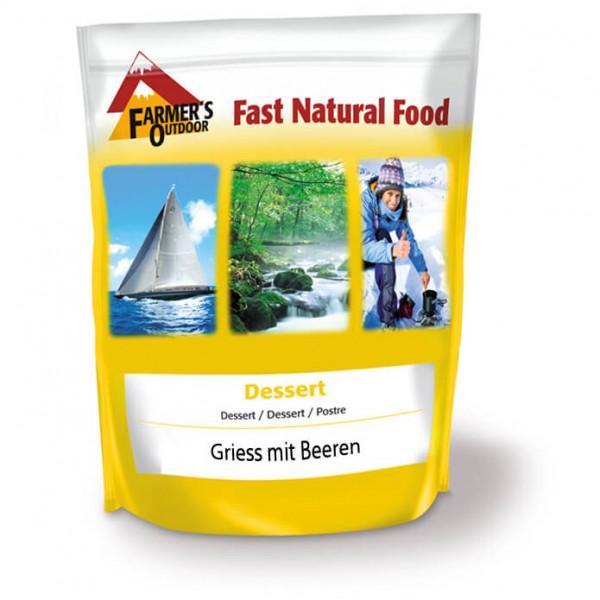 Farmer's Outdoor - Griess mit Beeren