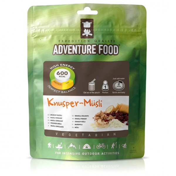 Adventure Food - Knuspermüsli