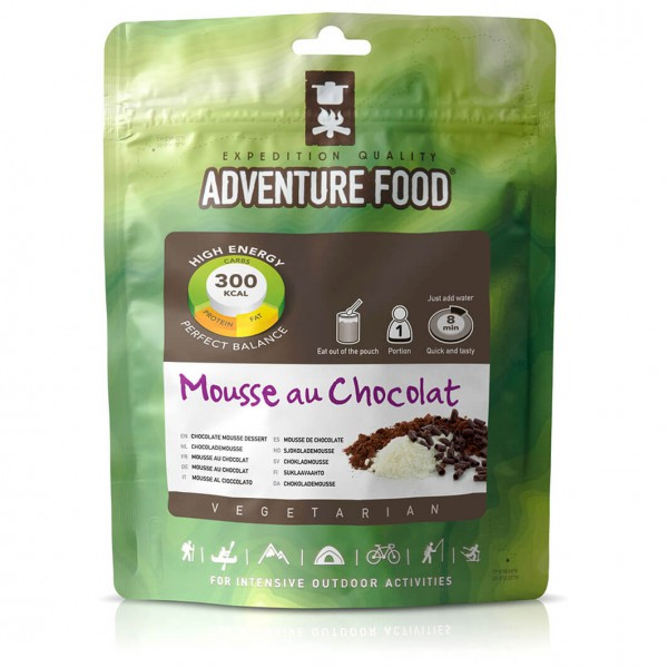 Adventure Food - Mousse au Chocolate