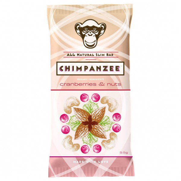 Chimpanzee - Slim Bar Cranberries / Nuts
