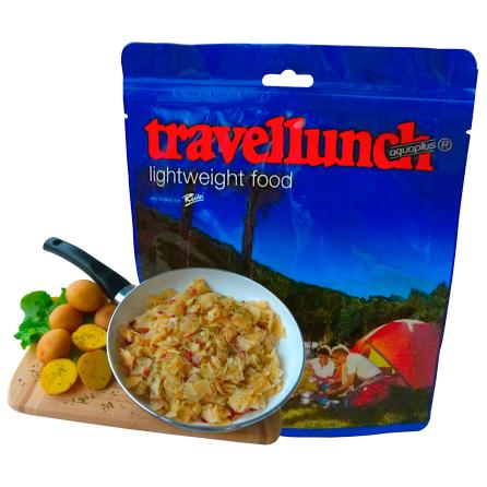 Travellunch - Bratkartoffeln mit Schinken