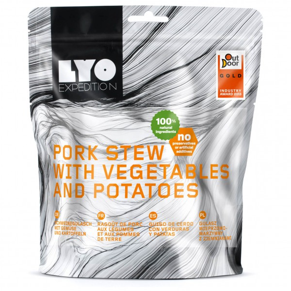 Lyo Food - Schweinegulasch Mit Kartoffeln