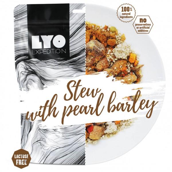 Lyo Food - Schweinegulasch Mit Perlgrauppen