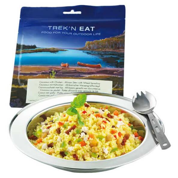 Trek'n Eat - Couscous mit Hühnchen - Hoofdgerecht