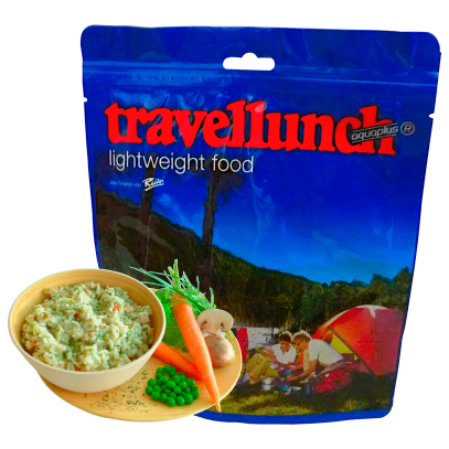 Travellunch - Kana-kasvisrisotto