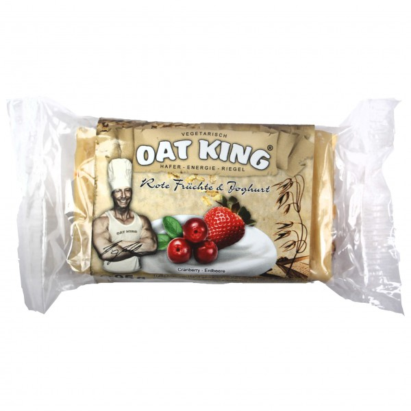 Oat King - Rote Früchte - Energiapatukka
