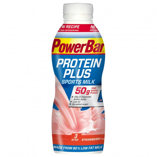 PowerBar - Proteinplus Sports Milk Erdbeer - Milk drink