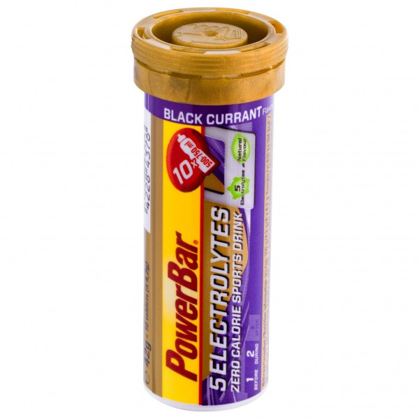 PowerBar - 5 Electrolytes Black Currant - Bruistabletten