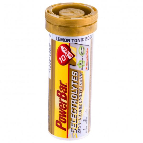 PowerBar - 5 Electrolytes Lemon Tonic Boost (Caffeine) - Energiegetränk